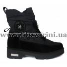 Ботинки X18-4-N540 черный текстиль (искусст мех) бот з