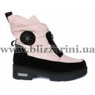 Ботинки X18-4-N540 розовый текстиль (искусст мех) бот з