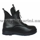 Ботинки 47 14 черная кожа (полн мех) бот з