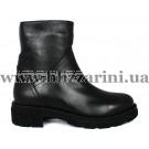 Ботинки 5013 01 черная кожа (мех 2) бот з