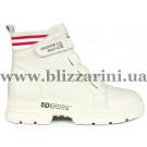 Ботинки 1009-2 бежевая кожа бот