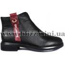 Ботинки 2829-1 черная кожа бот