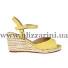 Босоножки 0971 sari-01 желтая кожа л