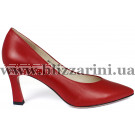 Туфли S407-75-Y327AK красная кожа туф