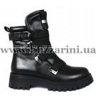 Ботинки H2068-0739-0656 черная кожа бот