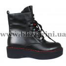 Ботинки H3166-0953-0566 черная кожа бот