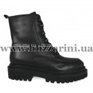 Ботинки 1905-701B черная кожа бот