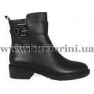 Ботинки Z285-01B-N219 черная кожа бот