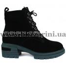 Ботинки 8E1630-YS5895-015G2 (полн мех) черный замш бот з