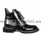 Ботинки H2280-3280-N423 черный лак бот