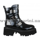 Ботинки LE78-06-QP113B (мал разм) черный лак бот