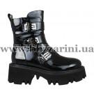 Ботинки LE78-06-QP113B (бол разм) черный лак бот