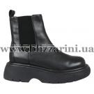 Ботинки BZ266-7M-A (полн мех) черная кожа бот з