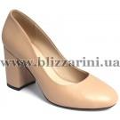 Туфли модельные JH127-A2-MC29  beige кожа  туф
