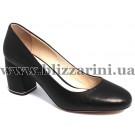 Туфли модельные JH169-H1-YP237  black кожа  туф