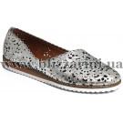 Туфли комфорт 0407-58.92 37  silver leather серебро кожа  л-т