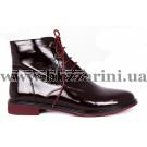 Ботинки 18J101-4528J-6158  бордо лак  бот