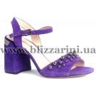 Босоножки JH93L-R6-YJ50  violet замш  л