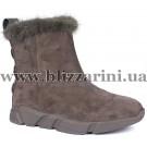 Ботинки 116M-8-YJ2-NP5 (полн мех)  серый замш  зима