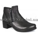 Ботинки 314 301 (БОЛ Р)  черная кожа сатин  бот