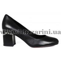 Туфли G629-1-R51-Y001 черная кожа туф
