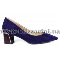 Туфли 9A219-NW436-YF70A фиолетовый замш туф