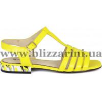 Босоножки Z240-90H-Y617K желтая кожа л
