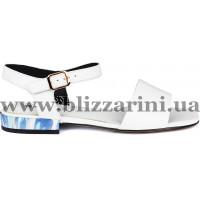 Сандалии Z240-60H-Y081T (мал разм) белая кожа л
