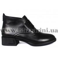 Ботинки A1211-90B-Y008 черная кожа бот