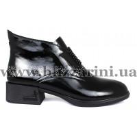 Ботинки A1211-90B-N462 черный лак бот