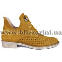 Ботинки 6002 120 желтый нубук бот