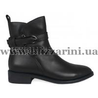 Ботинки BZ203-4R-A черная кожа бот