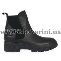 Ботинки BZ901-44R-A черная кожа бот