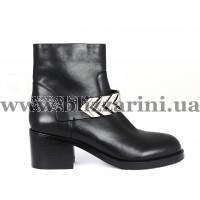 Ботинки HW18-05-701C/N710  черная кожа  бот