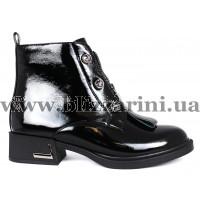 Ботинки 2F658-B201-N423  черный лак  бот