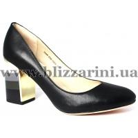 Туфли модельные 7A366-E395-Y303A  black кожа  туф