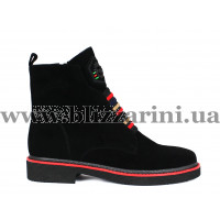 Ботинки 8E1058-YT2694-YF85B  черный замш  бот