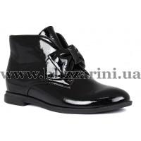 Ботинки N2419B8-1365  черный лак  бот
