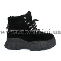 Ботинки 50159 black плюш (искусст мех) бот з