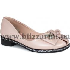 Туфли 163 51  розовая кожа  туф
