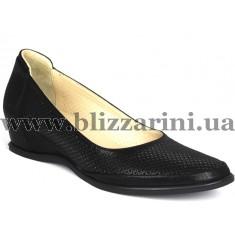 Туфли G143 130 117  черная кожа сатин  туф