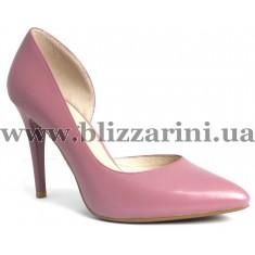 Туфли модельные S53-03-Y366HK  dk pink кожа  туф