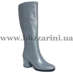 Сапог JH255-R8-4M-NP132 (мех 4)  голубая кожа  зима