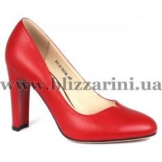 Туфли S72-25-Y327AK  красная кожа  туф