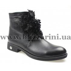 Ботинки 2002 NAKIS 01 черная кожа бот
