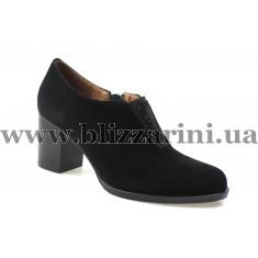 Туфли модельные K2669-317-3 black замш  т
