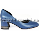 Туфлі Z269-70H-Y593K синяя кожа л-т