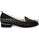 Туфлі 888-777-301 черный замш л-т