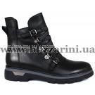 Ботинки M1981-61-2488 черная кожа бот