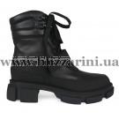 Ботинки BZ206-6R-4 D463 (полн мех) черная кожа бот з